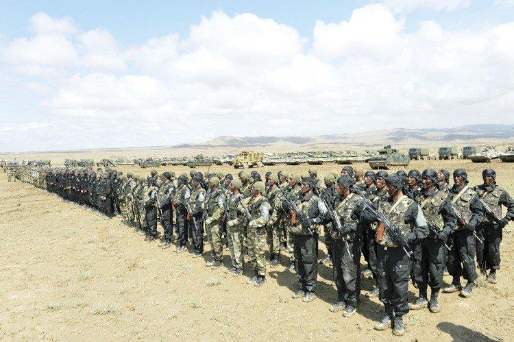 Naxçıvanda Azərbaycan-Türkiyə birgə hərbi təlimləri keçirilib