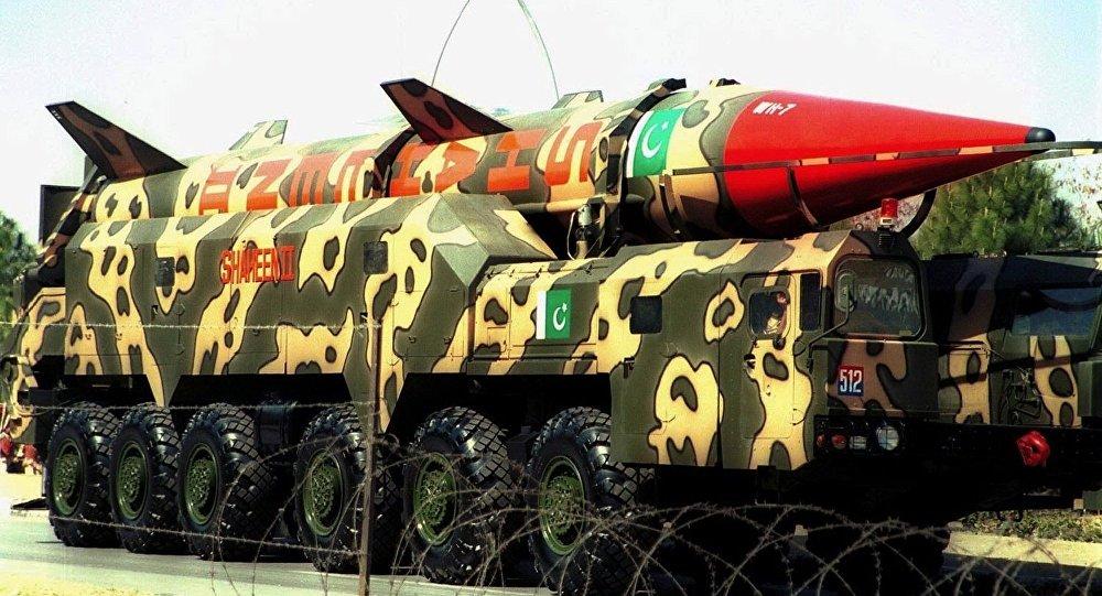 Pakistan nüvə raketi