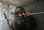Солдат на позиции