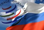 ВТО и российский флаг