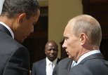 В.Путин и  Б.Обама