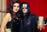 Наина Ибрагимова в образе Майкла Джексона и певица Айсель Теймурзаде