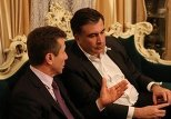 Михаил Саакашвили и Бидзина Иванишвили