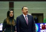 Ильхам и Мехрибан Алиевы