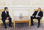 Встреча Ильхама Алиева с послом Бразилии в Азербайджане Сергио де Соузу Фонтеса Арруд
