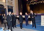 Ильхам Алиев принял участие в открытии Азербайджанского государственного музыкального театра