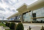 Бакинский Экспо-центр. Фантастическими назвал спортивные сооружения, уже построенные и планирующиеся к ЕОИ-2015 года в Баку, председатель Координационной комиссии Игр, президент олимпийского комитета Греции Спирос Капралос.