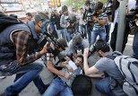 События на площади Таксим в Стамбуле