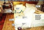 фото из спальни Майкла Джексона, сделанное вскоре после его смерти