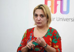 Руководитель Женского кризисного центра Матанат Азизова