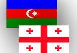 флаг Азербайджан-Грузия