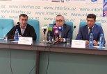 Пресс-конференция, посвященная проведению Кубку Президента Азербайджана по КВН