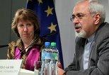 Высокий представитель ЕС по иностранным делам и политике безопасности Кэтрин Эштон и министм иностранных дел Ирана Мохаммад Джавад Зариф