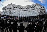 акция протеста возле кабмина Украины