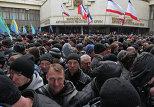 Неизвестные заняли здания парламента и правительства Крыма