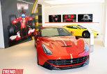 автосалон Ferrari