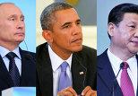 Путин, Обама, Си Цзиньпин