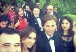 Агаларовы на свадьбе