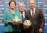Право проведения ЧМ по футболу перешло от Бразилии к Росси