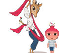 Образы Джейрана и Нар представлены в качестве официальных талисманов Евроигр Баку 2015