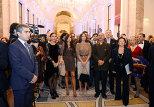 Мехрибан и Лейла Алиевы приняли участие в презентации фотовыставки Резы Дегати, посвященной Азербайджану