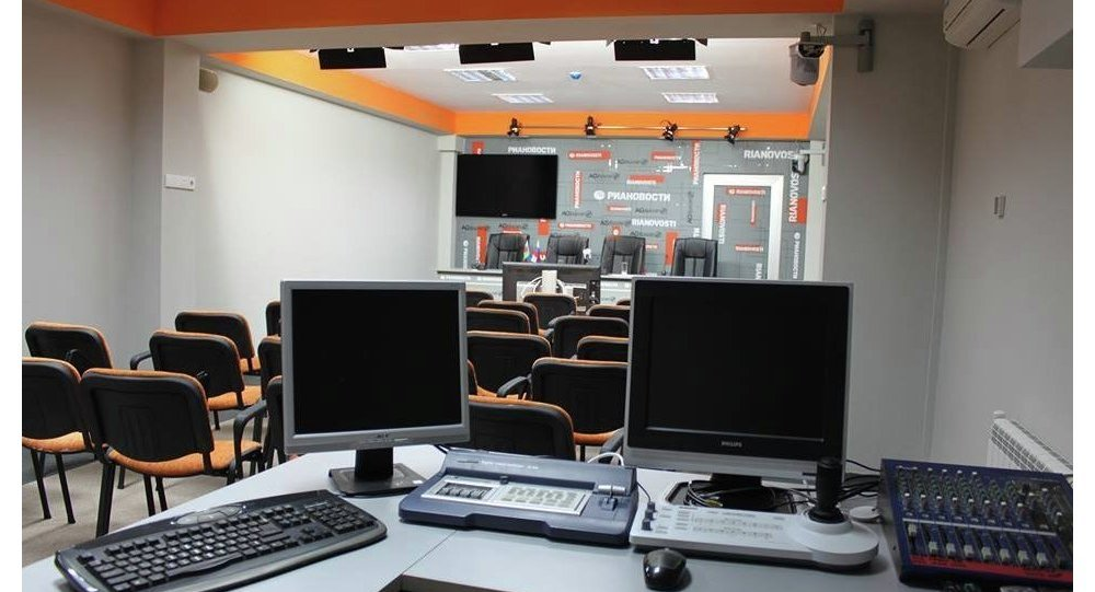 пресс центр РИА Новости