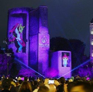 В Баку прошло грандиозное шоу, посвященное 200 дням до начала первых Евроигр (ФОТО)