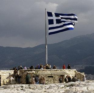 Yunanıstan bayrağı