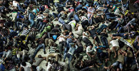 Нелегальные мигранты в тесноте и в плохих санитарно-гигиенические условиях отправляются в Европу