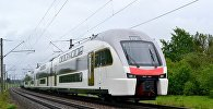 Сверхсовременные двухэтажные поезда «Stadler Kiss» из серии «EШ 2» направлены из Минска в Баку
