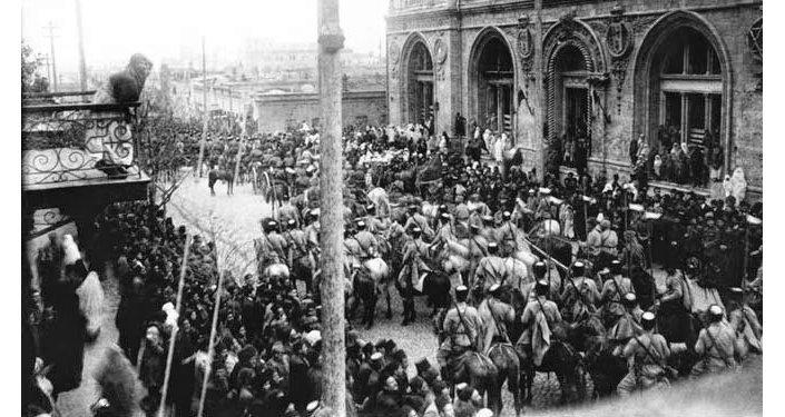 История Баку - 28 мая архивные фотографии Ризван Гусейнов