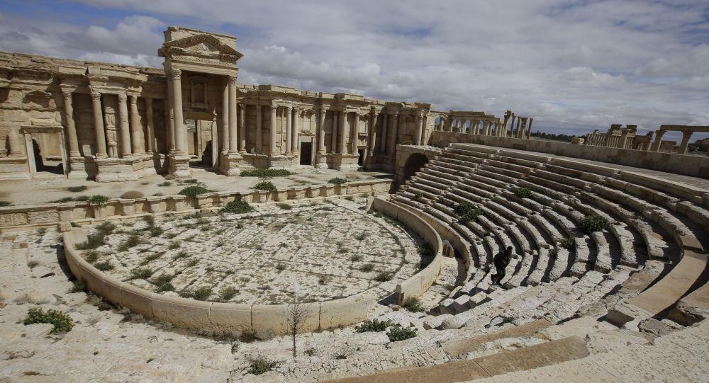 Античный театр в Пальмире