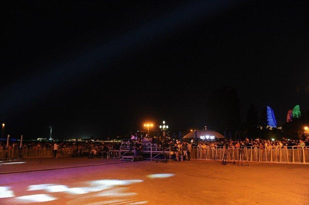 Dənizkənarı Milli Parkda konsert