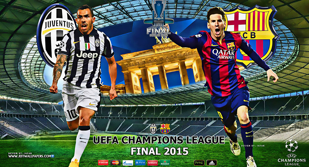UEFA Champions League final Barcelona-Juventus