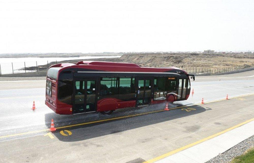 Avropa Oyunları üçün avtobus deposu və təlim mərkəzinin açılışı olub