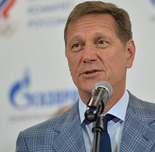 Торжественная церемония проводов команды России на I Европейские игры