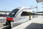 Новые современные электрические поезда доставлены в Азербайджан. Поезда будут работать по маршруту «Баку-Сумгайыт-Баку»