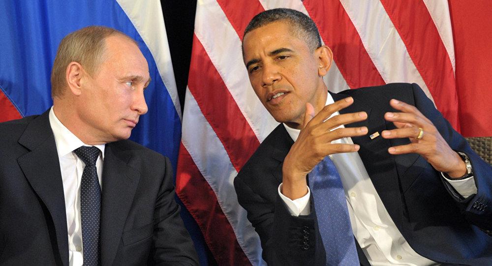 Владимир Путин-Барак Обама
