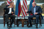 ABŞ prezidenti Barak Obama və Rusiya prezidenti Vladimir Putin