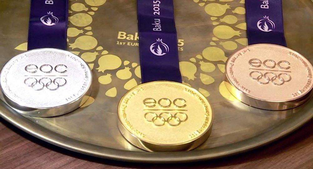 Bakı 2015-in medalları