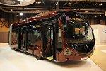 Красные автобусы «IVECO»