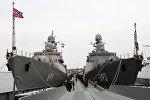 Ракетный корабль Дагестан вступил в строй Каспийской флотилии