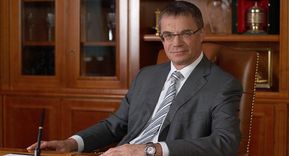 Qazpromun vitse-prezidenti Aleksandr Medvedev