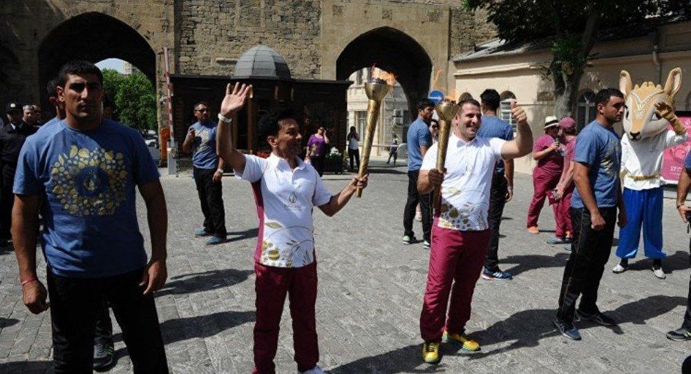 Первые европейские игры Факел Баку