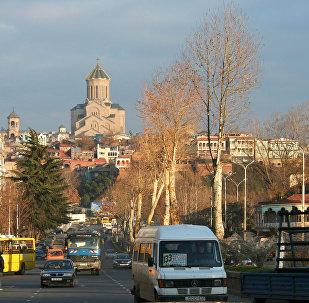 Тбилиси Грузия Собор Троицы