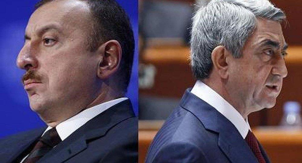 İlham Əliyev Serj Sarqsyan