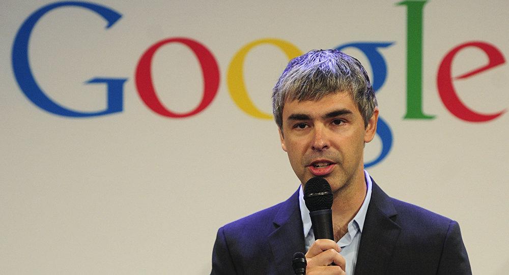 Googleun rəhbəri Larri Peyc