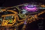 Баку в преддверии церемония открытий Первых Европейских Игр.
