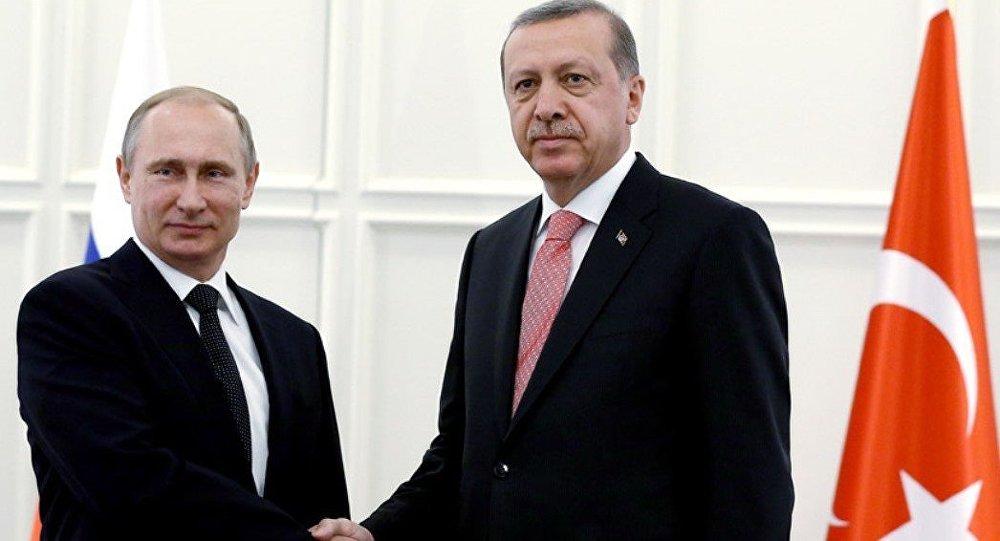 Встреча президентов Турции и РФ