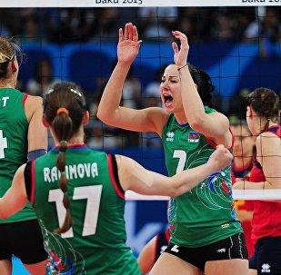 Волейбол Евроигры Азербайджан